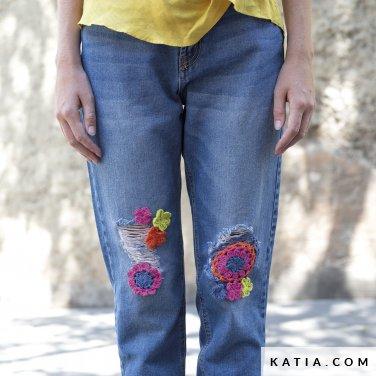 patroon breien haken dames personaliseren lente zomer katia 6122 51 p