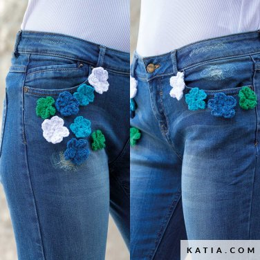 patroon breien haken dames personaliseren lente zomer katia 6122 52 p