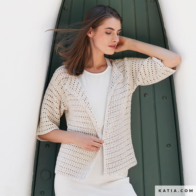 ModelleAnleitungen Frühjahr Sommer ModelleAnleitungen Sommer Jacke Jacke Damen Frühjahr Damen Jacke Damen dshtQrC