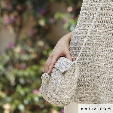 patroon breien haken dames tas lente zomer katia 6123 26 p