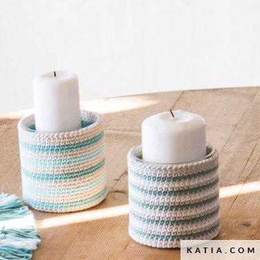 patroon breien haken woning hoezen voor containers lente zomer katia 6124 29 p