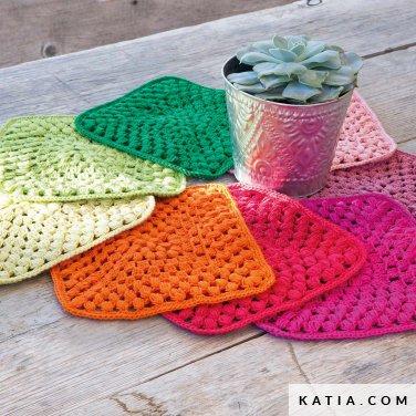patroon breien haken woning tapijt lente zomer katia 6124 49 p
