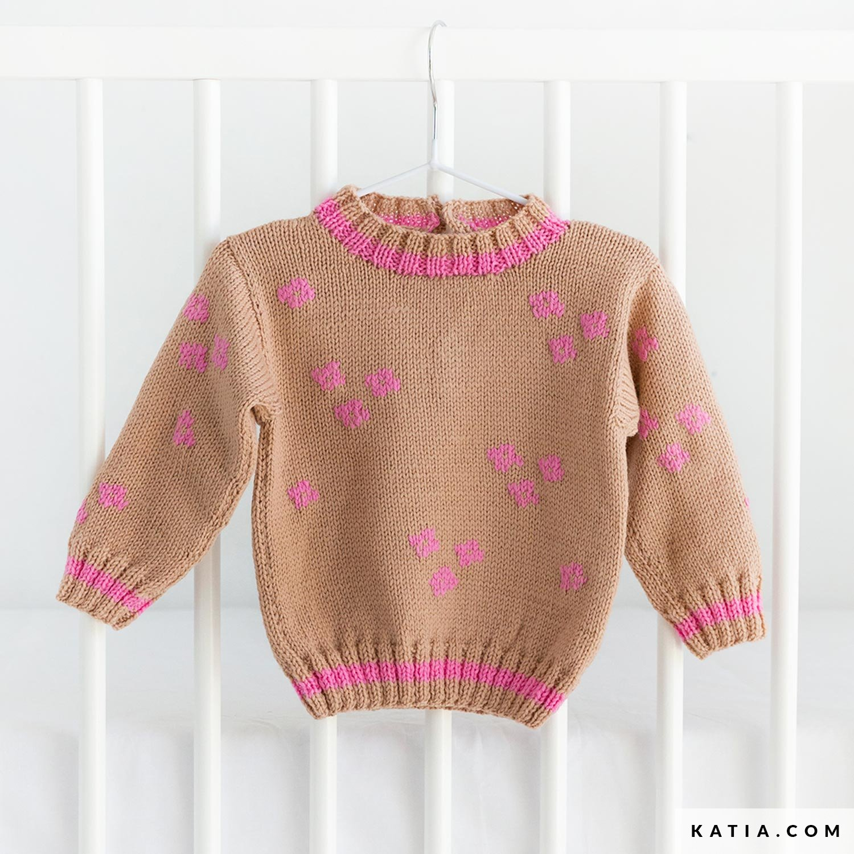 Sweater Baby Autumn Winter Models Patterns Katia Com