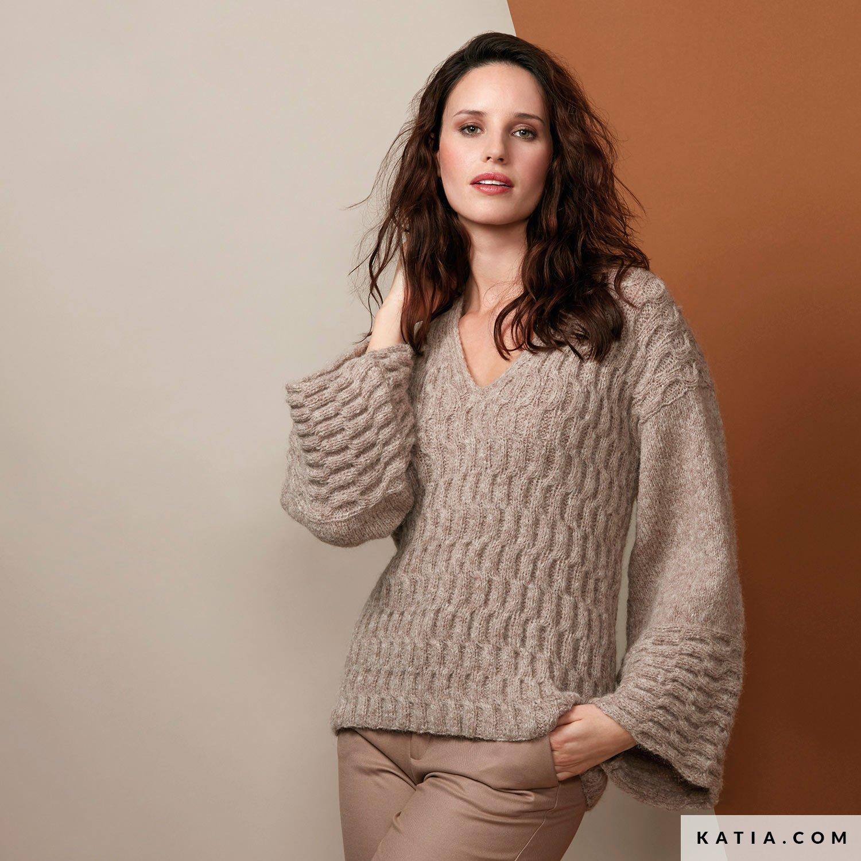 Pullover Damen Herbst Winter Modelle & Anleitungen