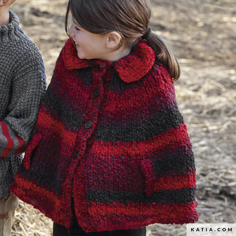 sconto fino al 60% Scoprire in vendita Poncho - Bambini - Autunno / Inverno - modello & schemi ...