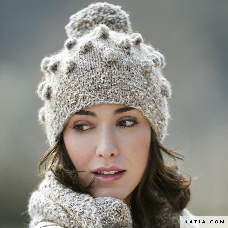 Nieuw Muts - Dames - Herfst / Winter - modellen & patronen | Katia.com IL-51