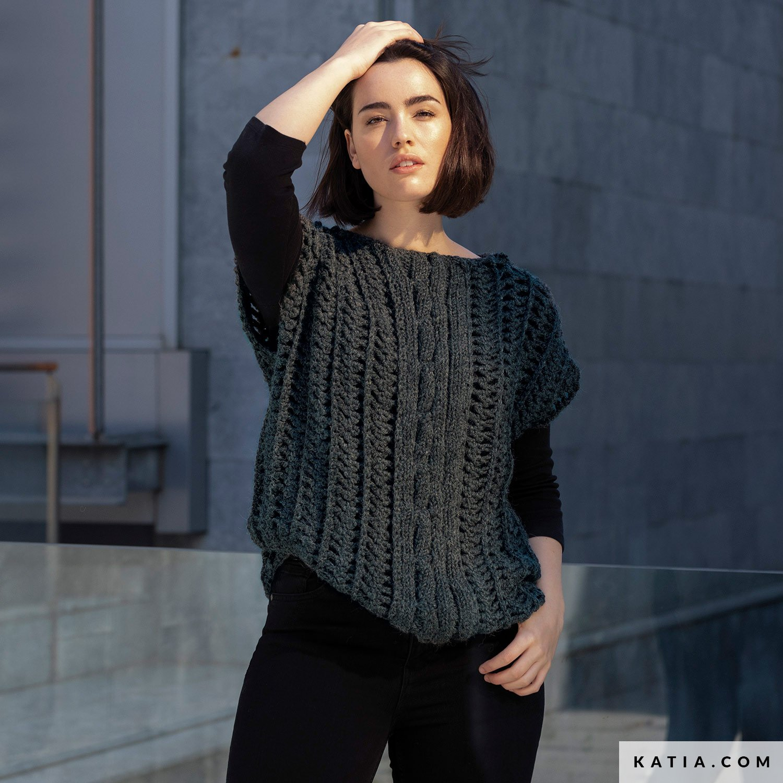 Gilet Femme Automne Hiver Modeles Patrons Katia Com