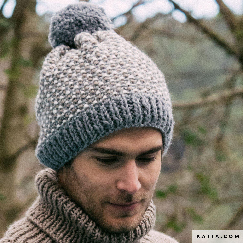 Bonnet - Homme - Automne / Hiver - modèles & patrons | Katia.com