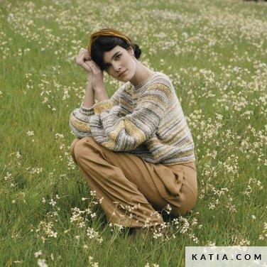 patroon breien haken dames trui herfst winter katia 6183 19 p