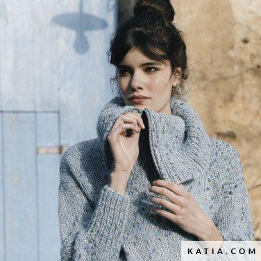 patroon breien haken dames trui herfst winter katia 6183 32 p