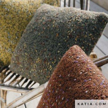 patroon breien haken woning kussen herfst winter katia 6183 33a p