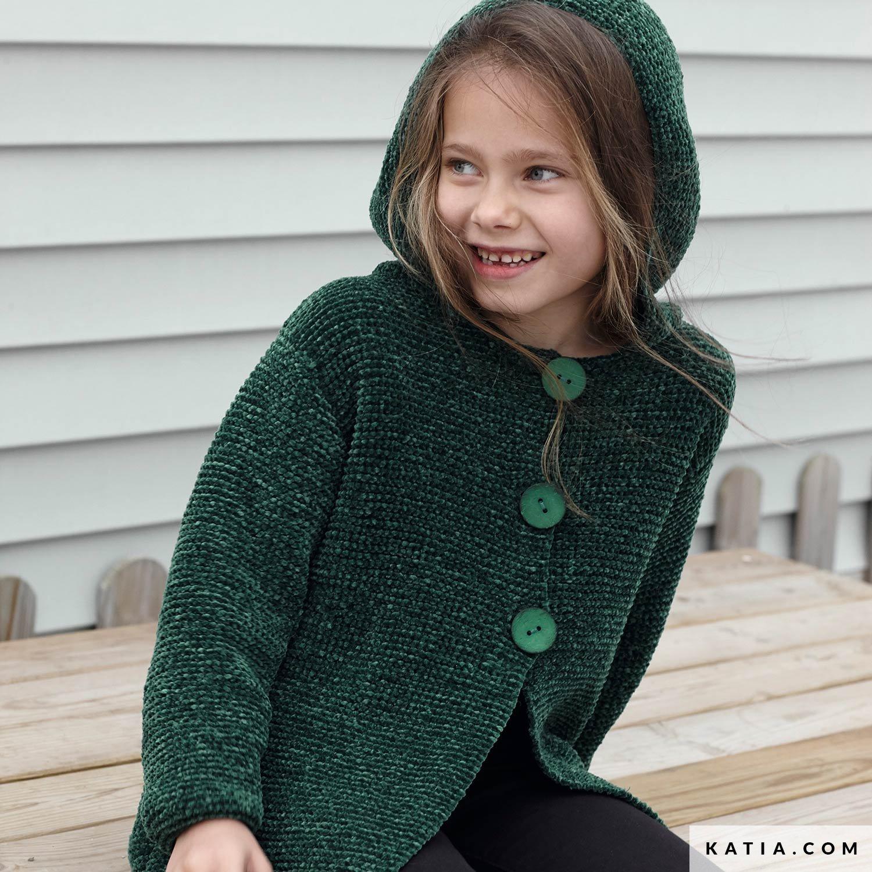 Jacke   Kinder   Herbst / Winter   Modelle & Anleitungen   Katia.com