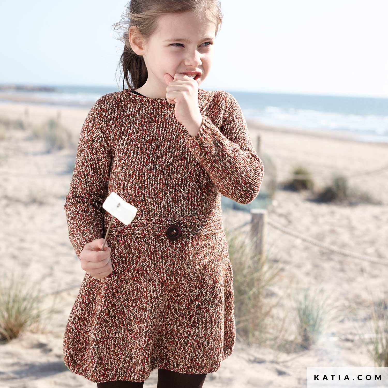 Robe Enfant Automne Hiver Modeles Patrons Katia Com