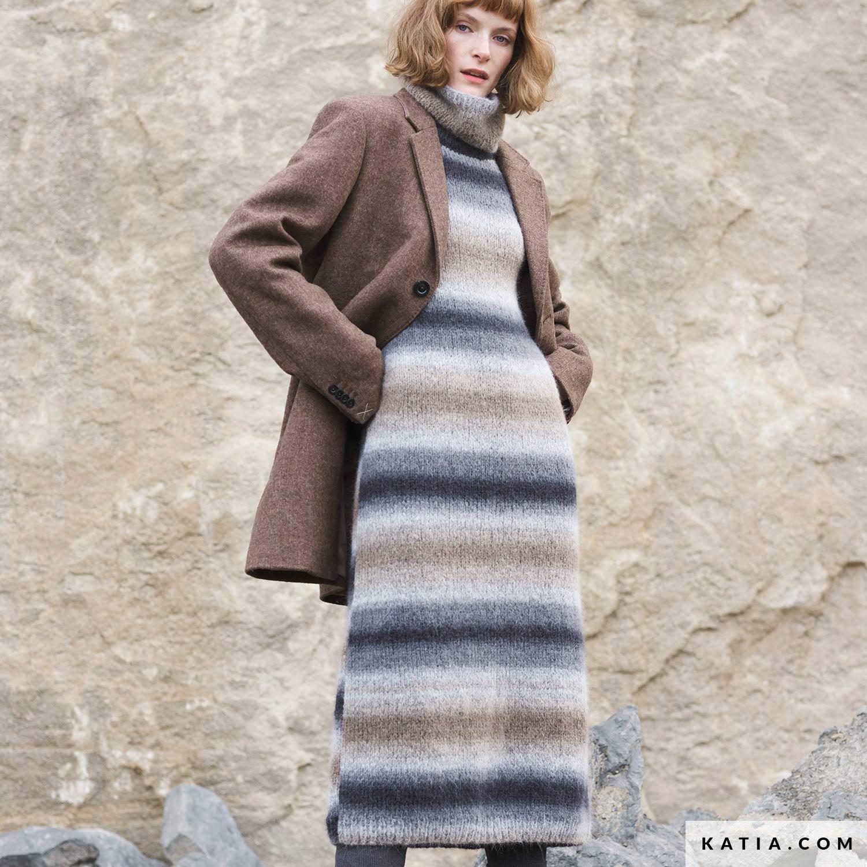 kleid - damen - herbst / winter - modelle & anleitungen