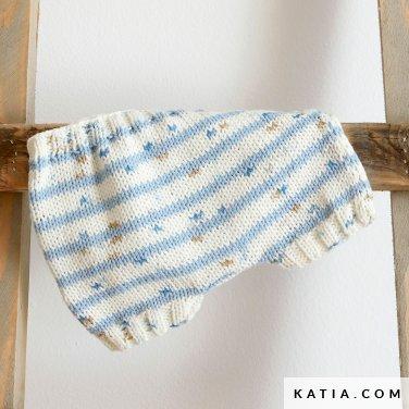 patroon breien haken baby broek lente zomer katia 6252 13 p