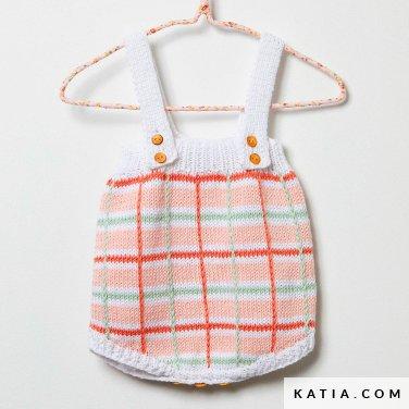 patroon breien haken baby slabbetje lente zomer katia 6252 23 p
