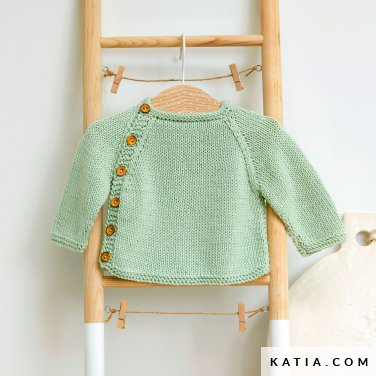 patroon breien haken baby trui lente zomer katia 6252 28 p