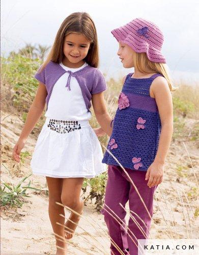 Sombrero - Niños - Primavera / Verano - patrones   Katia.com
