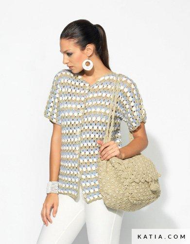 comprar popular b5349 559be Chaqueta - Mujer - Primavera / Verano - patrones   Katia.com