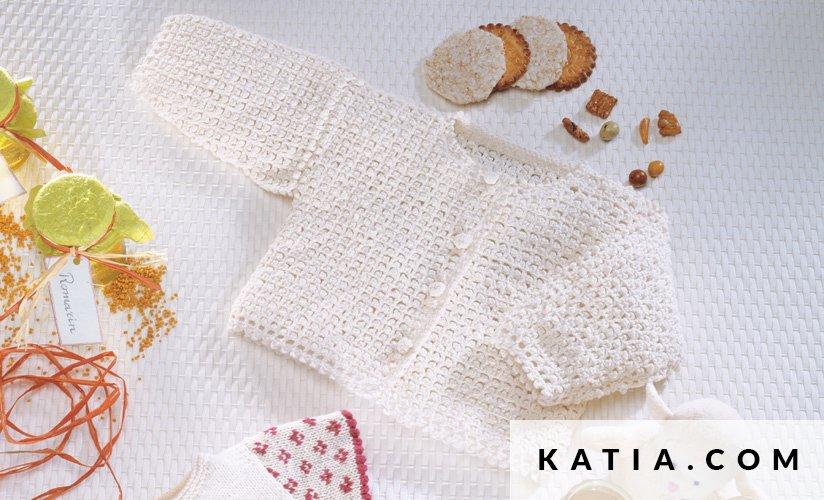 Jacket - Baby - Spring / Summer - models & patterns | Katia.com