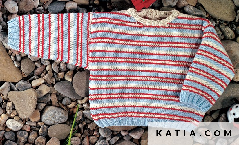 Sweater Baby Spring Summer Models Patterns Katia