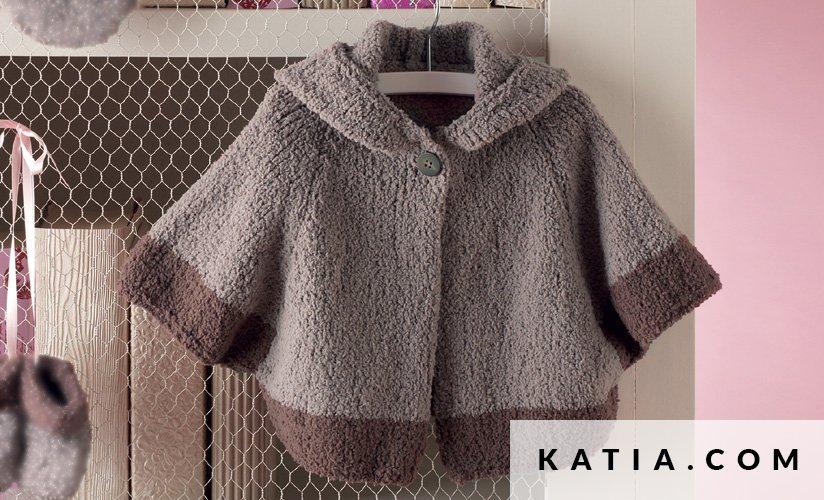 Abrigo - Bebé - Otoño / Invierno - patrones | Katia.com