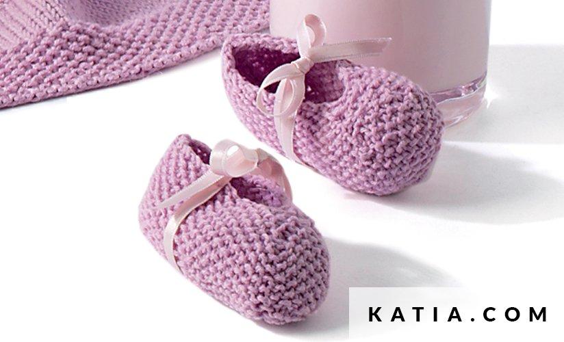 Patucos - Bebé - Primavera / Verano - patrones | Katia.com