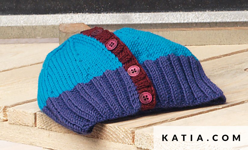 Gorro - Bebé - Otoño / Invierno - patrones | Katia.com