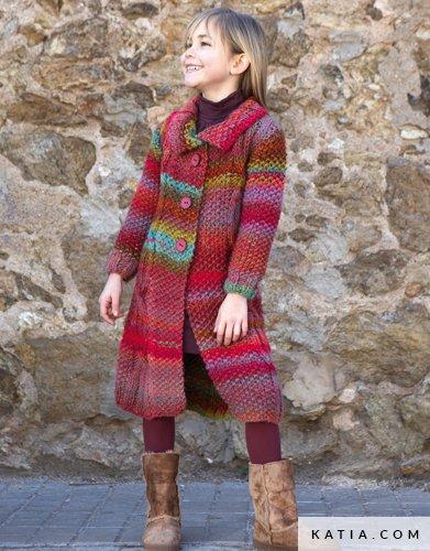 Cappotto Bambini Autunno Inverno Modello Schemi Katiacom
