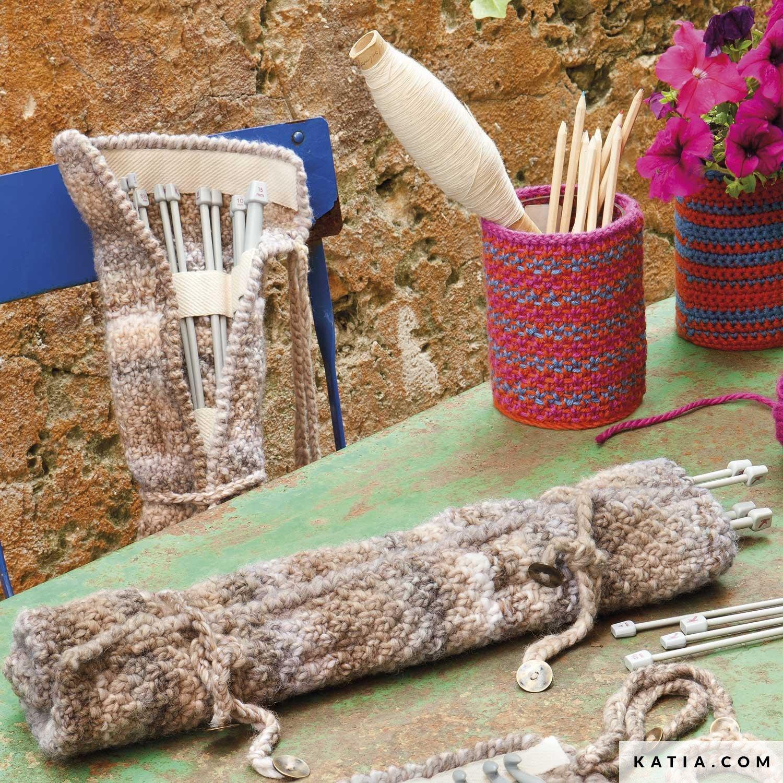 Knitting Needle Case Home Autumn Winter Models Katia