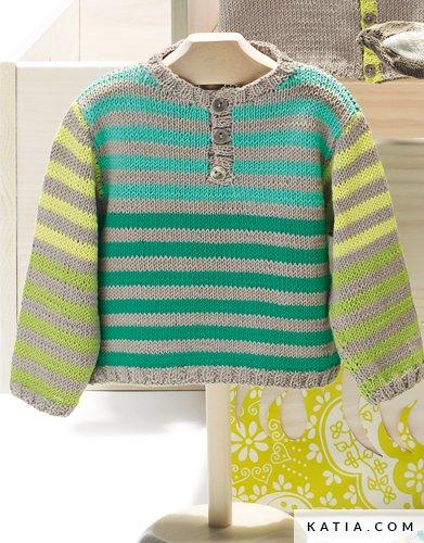 305fb4305 Polo Shirt - Baby - Spring   Summer - models   patterns