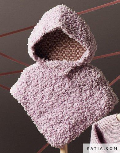 Poncho - Baby - Herbst / Winter - Modelle & Anleitungen | Katia.com