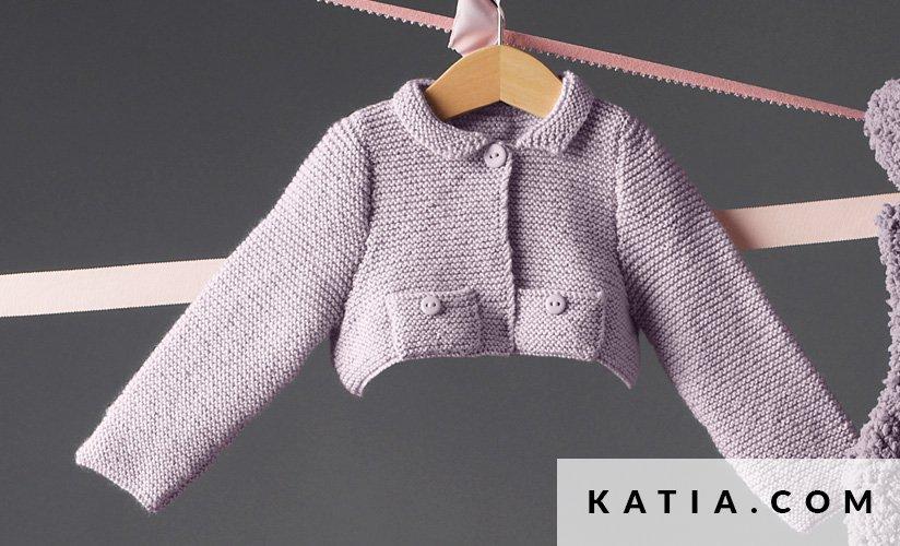 Torera - Bebé - Otoño / Invierno - patrones | Katia.com