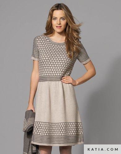 check out 44186 a0877 Kleid - Damen - Herbst / Winter - Modelle & Anleitungen ...
