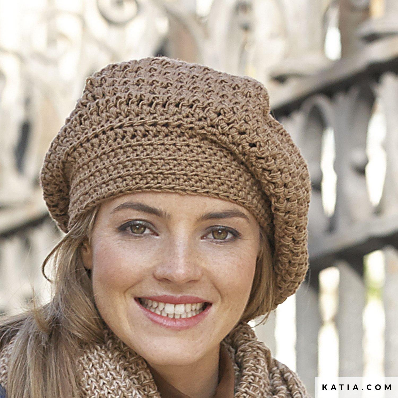 Beret - Woman - Autumn   Winter - models   patterns  65e7a1f9f93