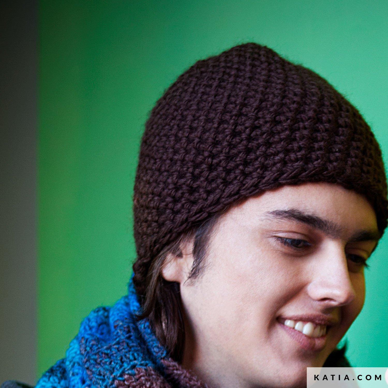 Gorro - Hombre - Otoño / Invierno - patrones | Katia.com