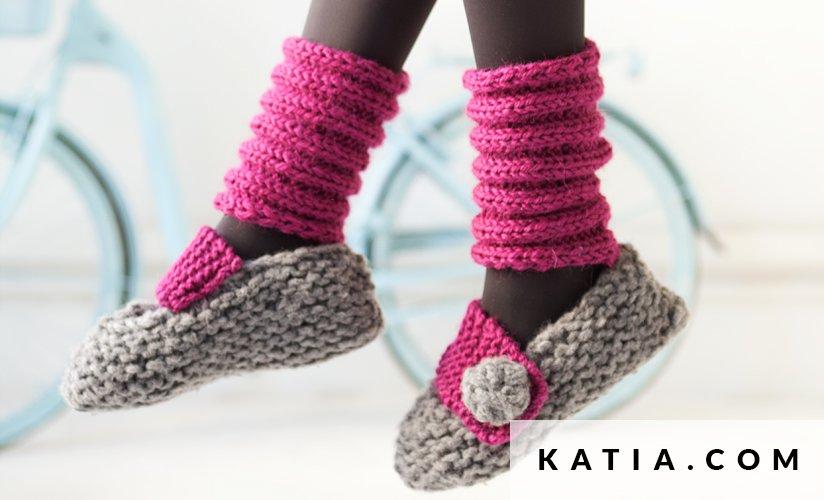 Zapatillas - Mujer - Otoño / Invierno - patrones | Katia.com