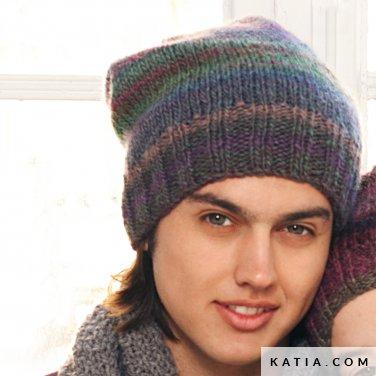 c54cb53bbe35 Bonnet - Homme - Automne   Hiver - modèles   patrons   Katia.com