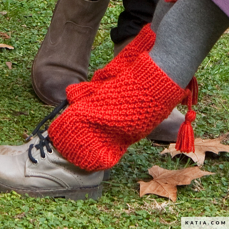 Leg Warmers Kids Autumn Winter Models Patterns Katiacom