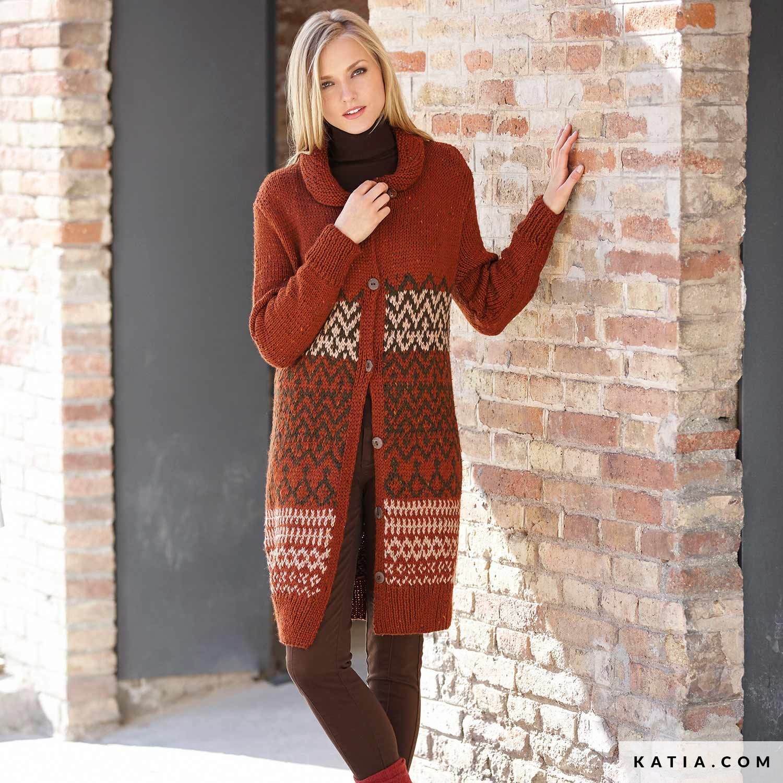 Cappotto Inverno Donna Autunno Modello Schemi amp; Hq1rHRw