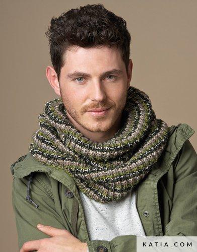 Cuello - Hombre - Otoño / Invierno - patrones | Katia.com