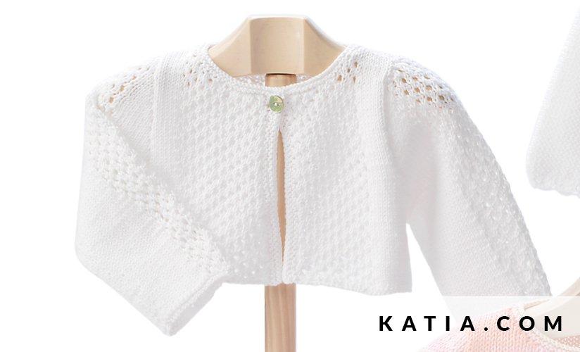 Short Jacket - Baby - Spring / Summer - models & patterns | Katia.com