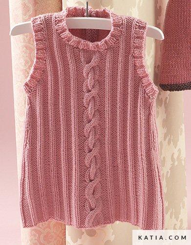 Dress Baby Autumn Winter Models Patterns Katia