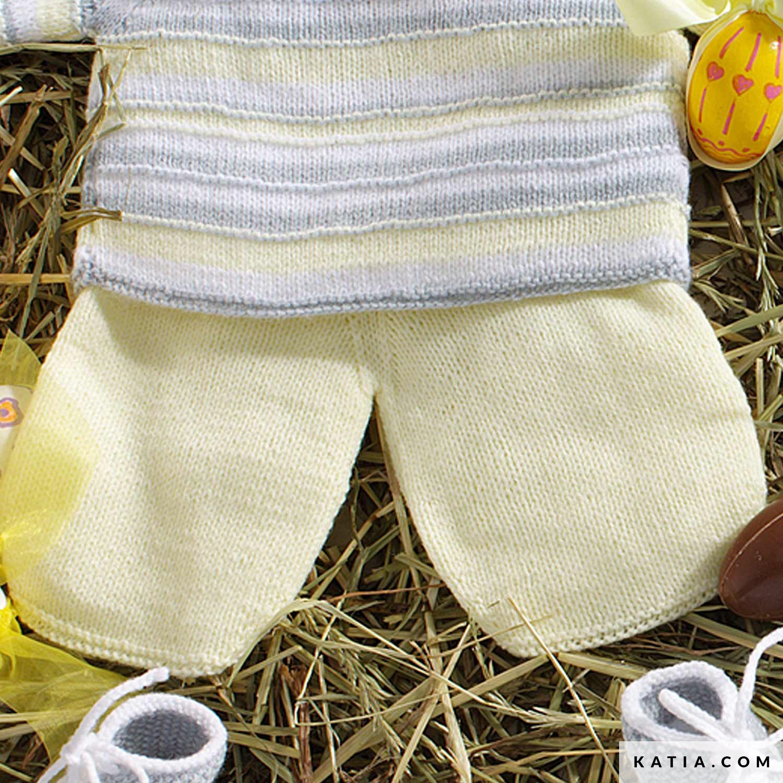 d61e35b0a patron tejer punto ganchillo bebe polaina otono invierno katia 6932 26 g