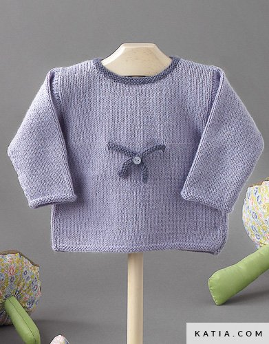 Fabulous Pullover - Baby - Herbst / Winter - Modelle & Anleitungen   Katia.com QG76