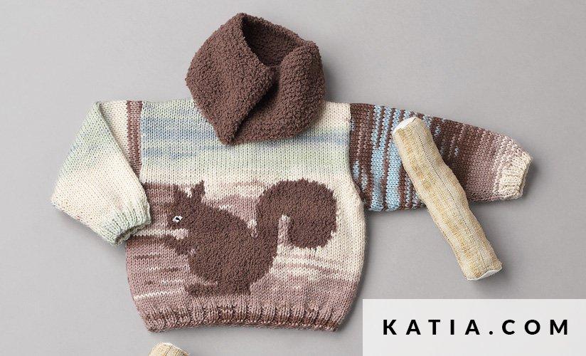 Colsjaal Baby Herfst Winter Modellen Patronen Katiacom
