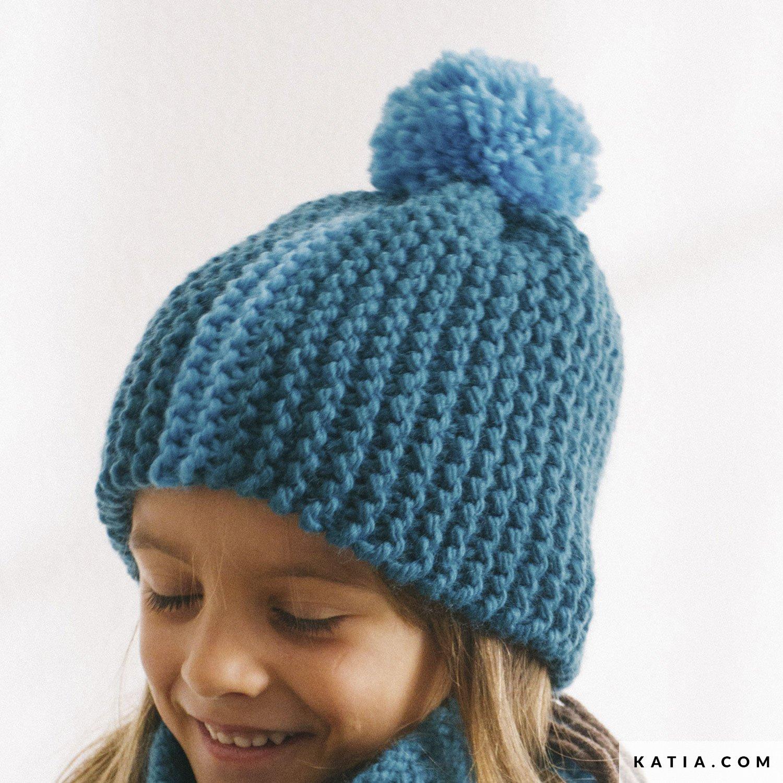 1ca3d2de880 patron tricoter tricot crochet enfant bonnet automne hiver katia 6935 63a g