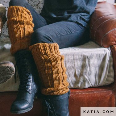 Beenwarmers Dames Herfst Winter Modellen Patronen Katiacom