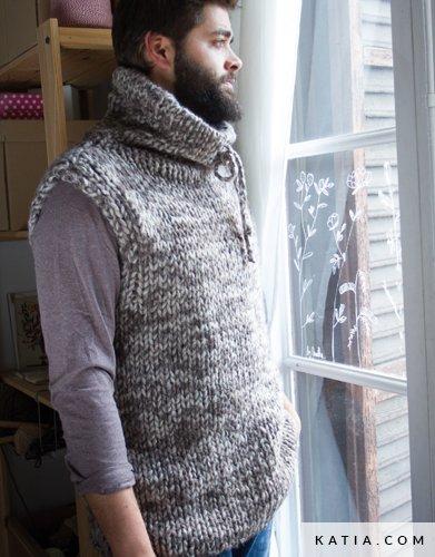 Vest Heren Herfst Winter Modellen Patronen Katiacom