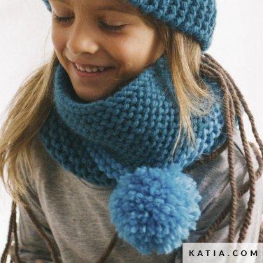 Colsjaal Kinderen Herfst Winter Modellen Patronen Katiacom